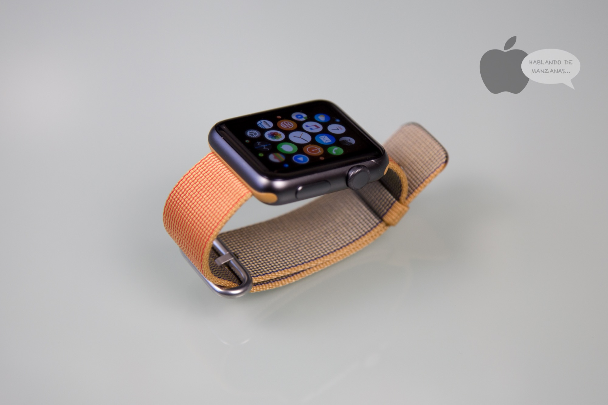 Análisis correa de nailon (original) para el Apple Watch