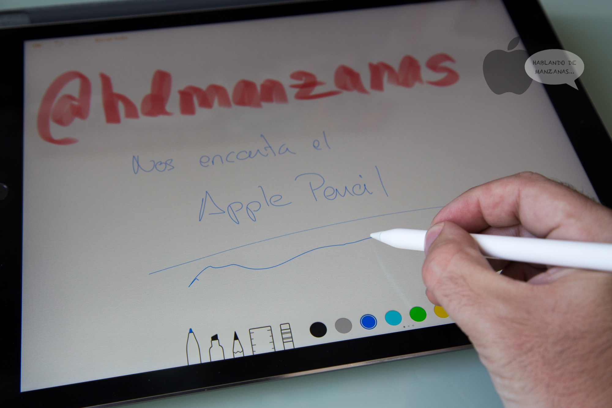 Unboxing y análisis del Apple Pencil para el iPad Pro