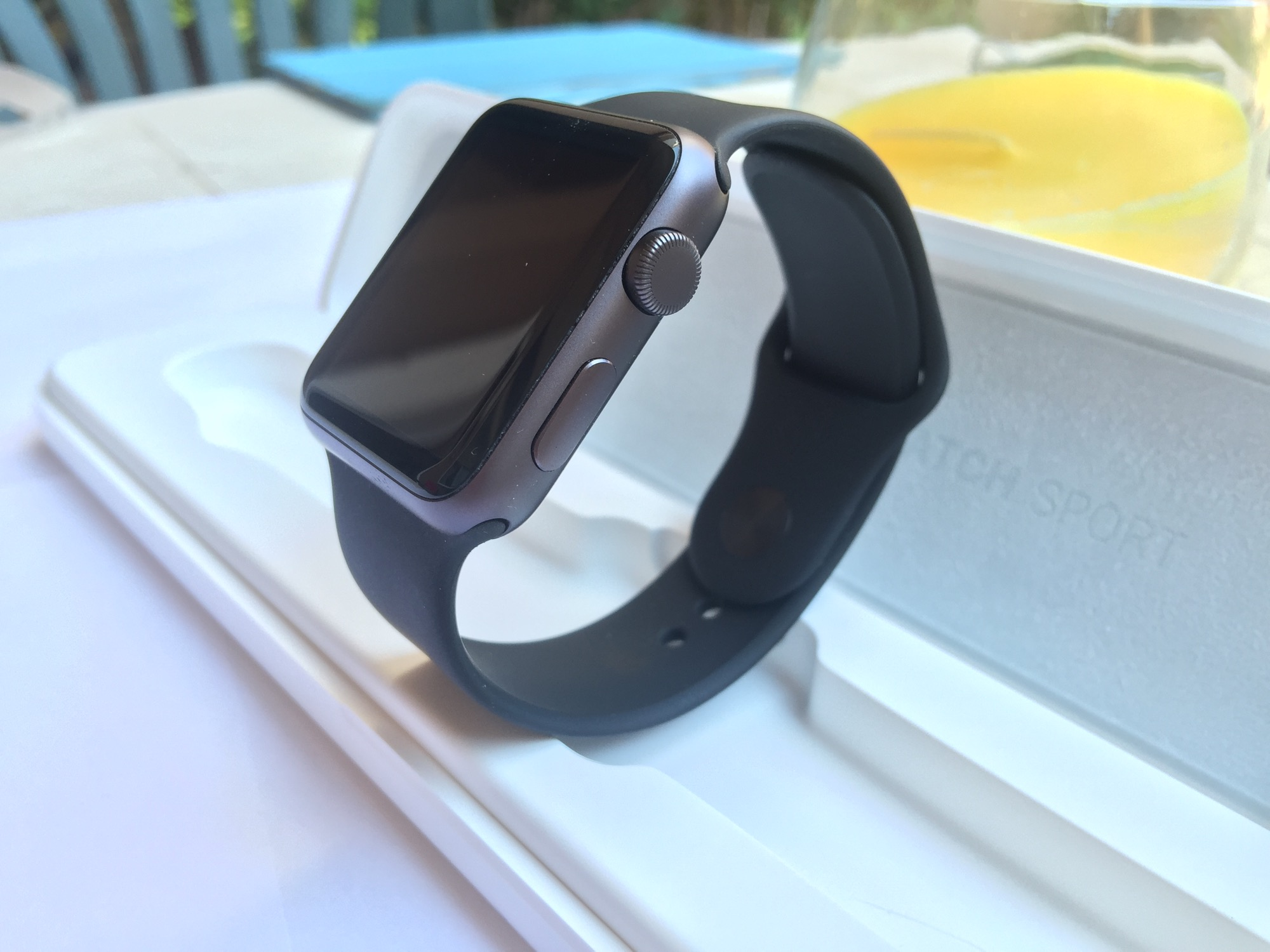 Unboxing y análisis Apple Watch Sport