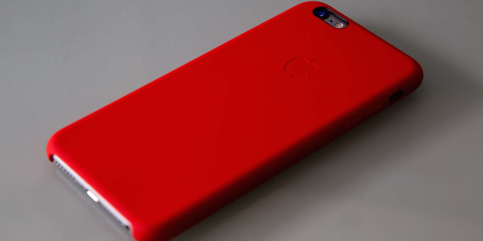 Apple funda oficial iPhone 6 Silicona Product Red Roja