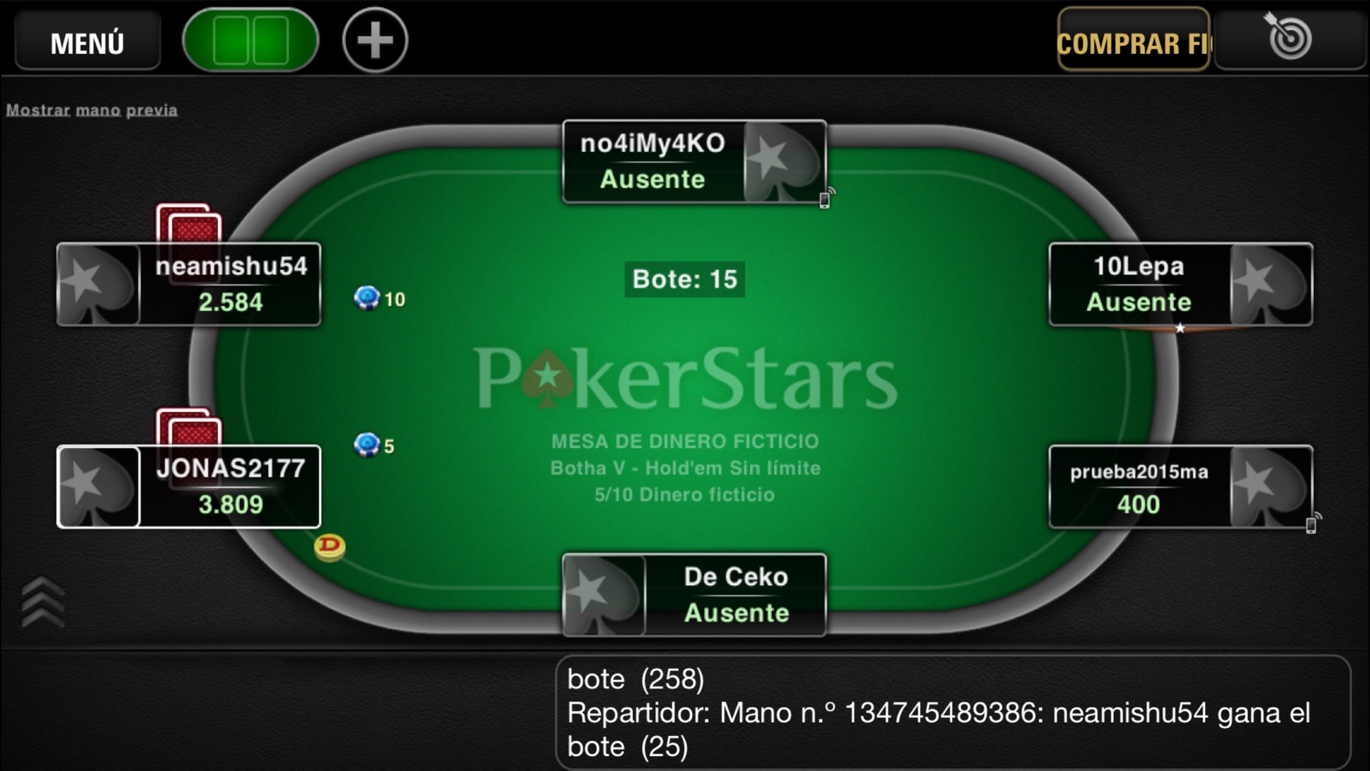 pokerstars ipad