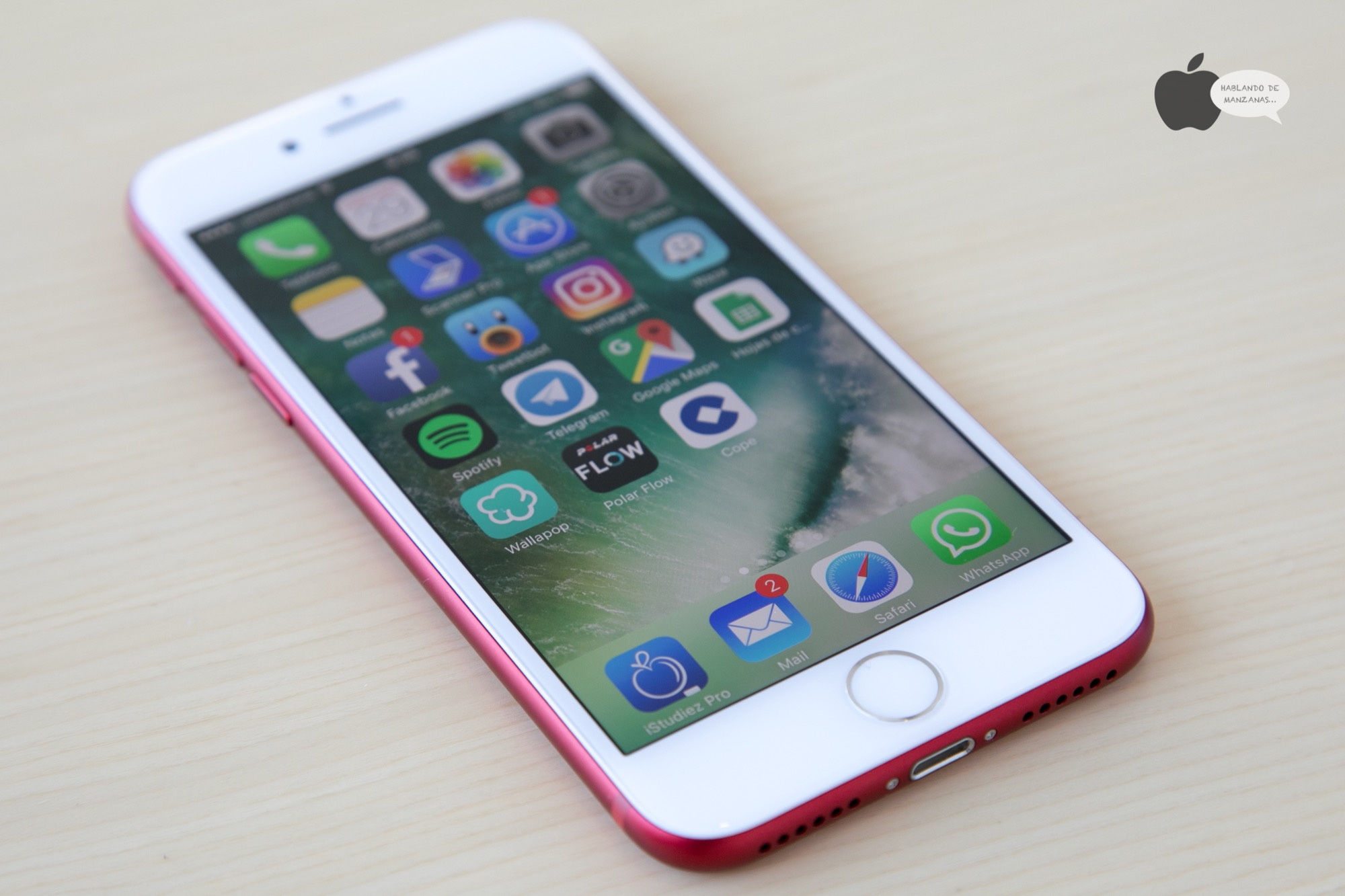 8a4dd296410 Análisis iPhone 7 Product Red, en precioso color rojo pero ...