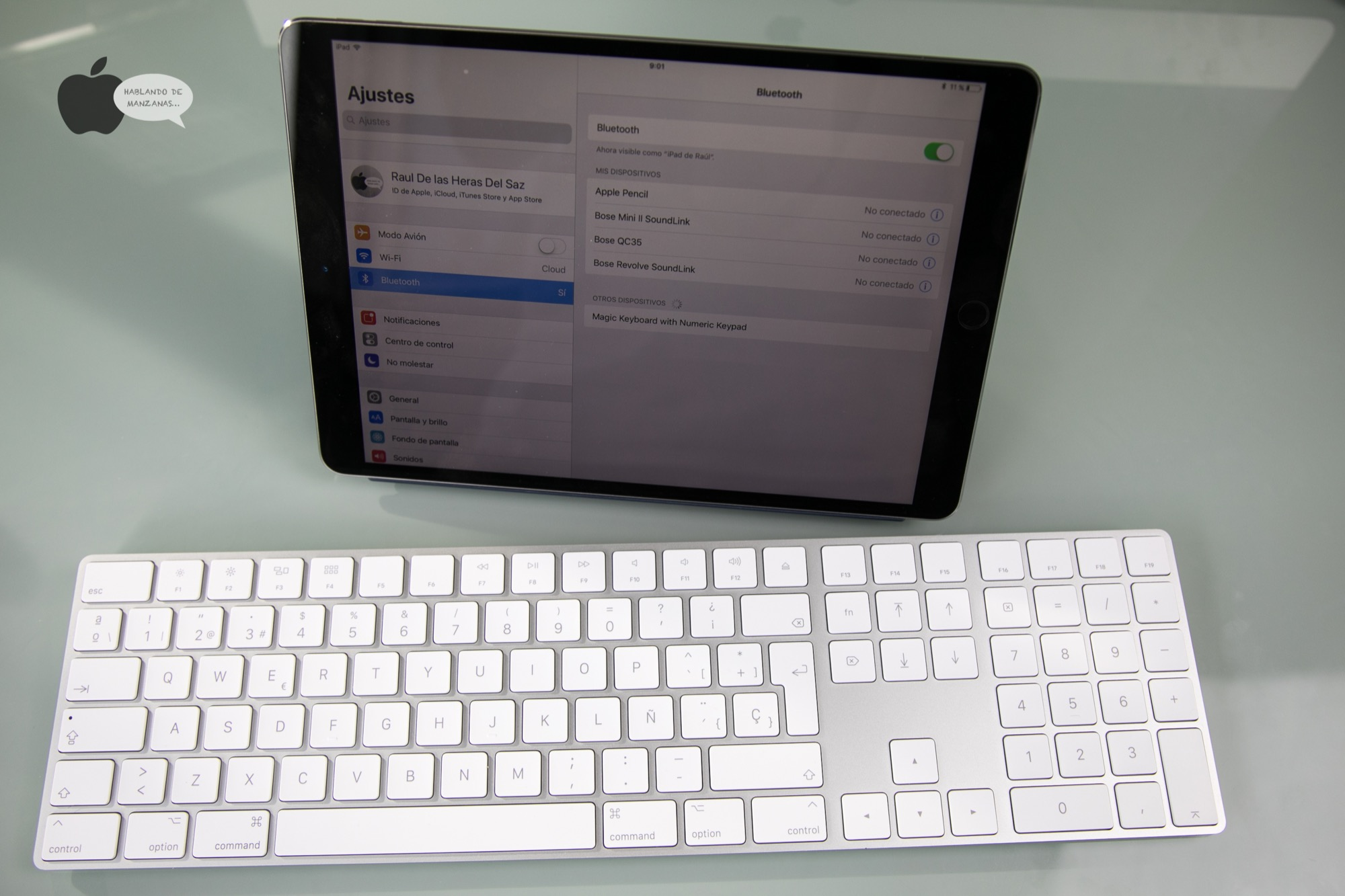 Análisis del Apple Magic Keyboard inalámbrico y numérico, teclado casi perfecto