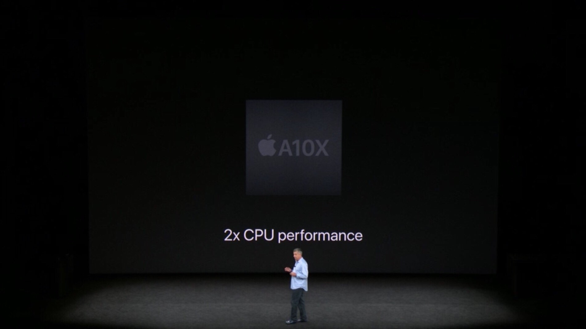 2x CPU y GPU 2x al anterior Apple TV