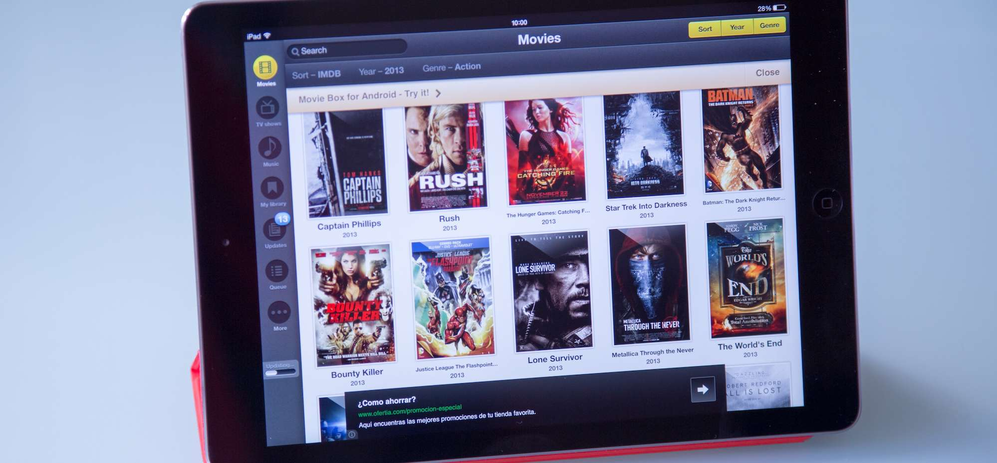Latest added movies on Showbox