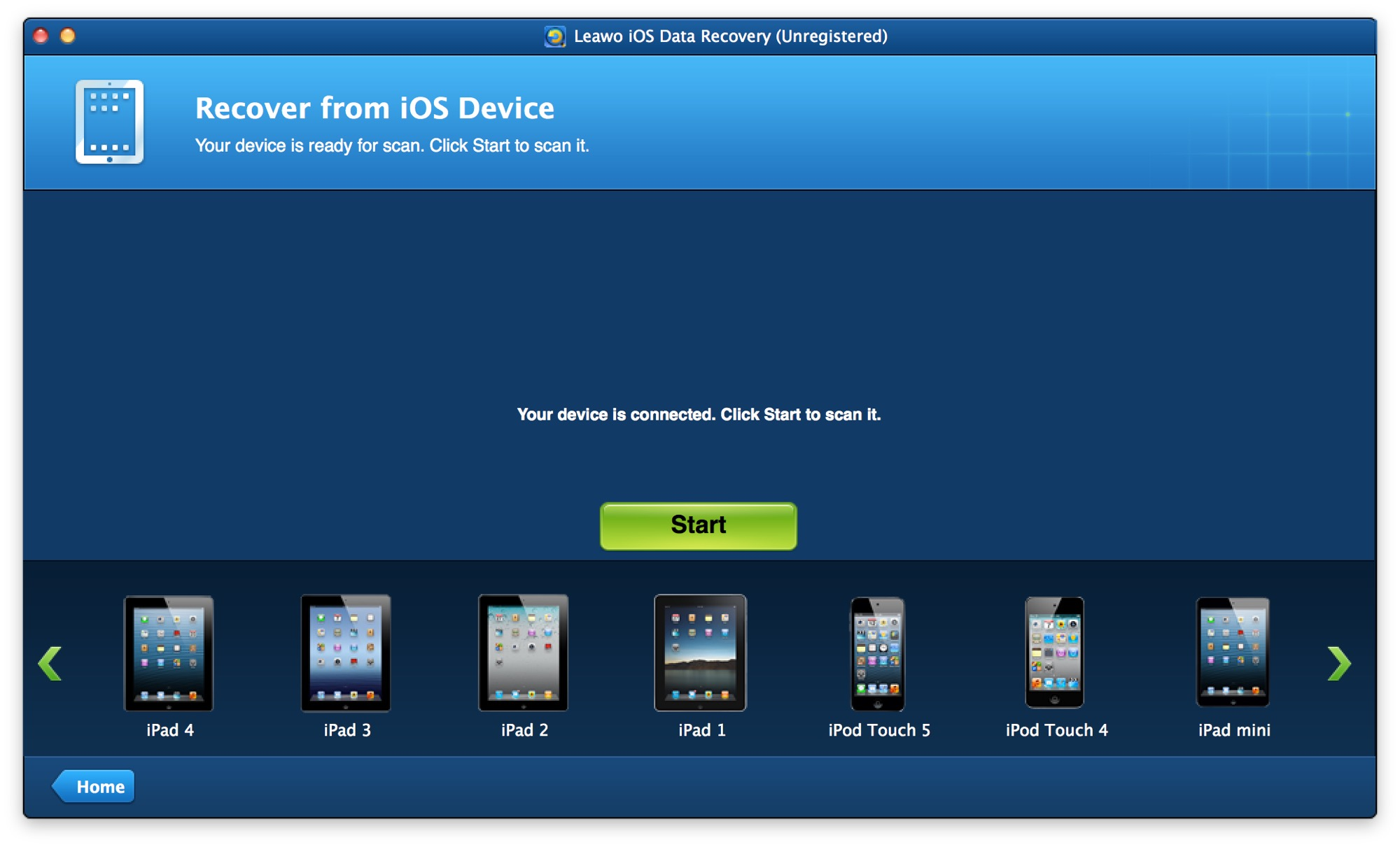 Analizamos la app Leawo iOS Data Recovery