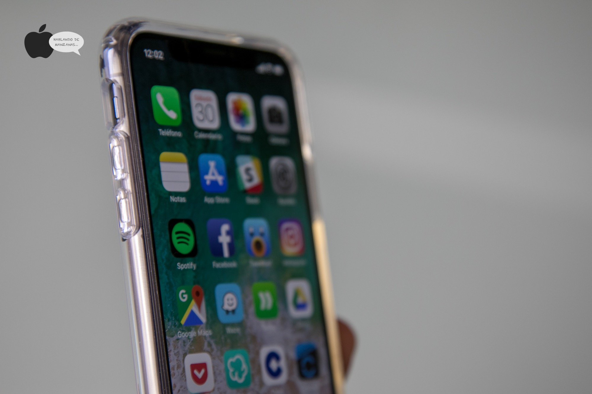 carcasa seguridad iphone x