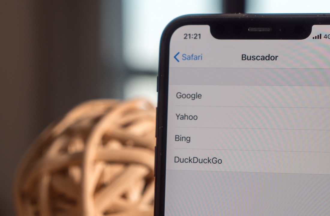 ¿Hay alternativas al buscador de Google en iOS14?