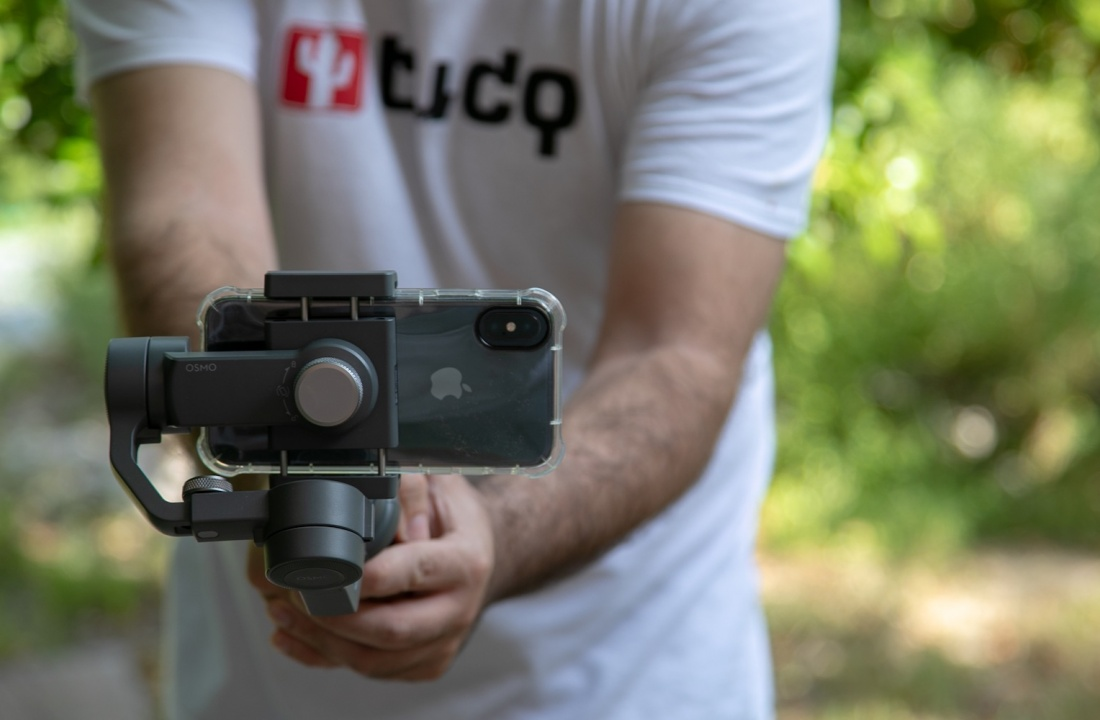 DJI Estabilizador Osmo Mobile 2 con iPhone X Análisis Review en Español